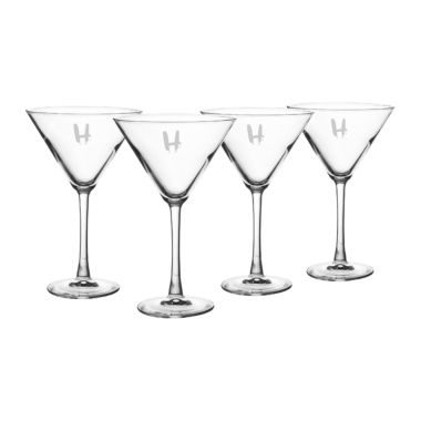 jcpenney.com | Cathy'S Concepts Set Of 4 Personalized Spooky 10-Oz. Martini Glasses