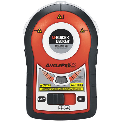Black & Decker Bullseye Auto-Leveling Laser with AnglePro
