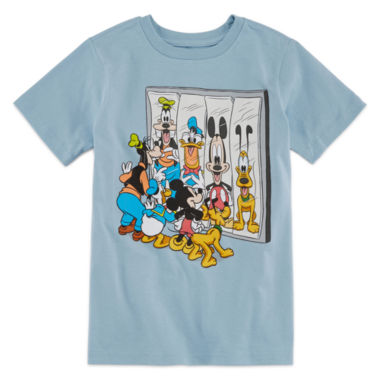 jcpenney.com | Disney® Fab4 Mirror Graphic Tee