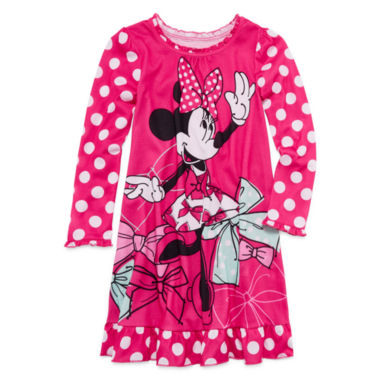 jcpenney.com | Disney Collection Pink Minnie Mouse Nightshirt