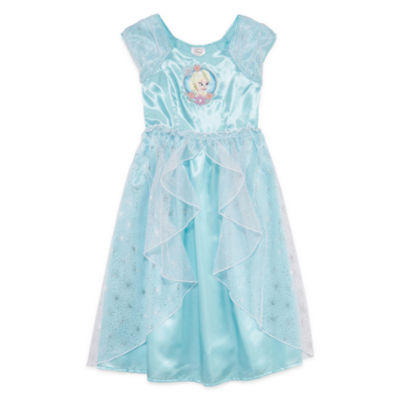 Disney Collection Cap-Sleeve Frozen Gown - JCPenney