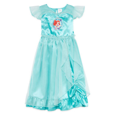 jcpenney.com | Disney Collection Short-Sleeve Little Mermaid Gown