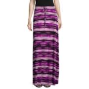 Worthington® Tie-Waist Knit Maxi Skirt - Petite
