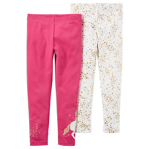 Carter's Star Knit Leggings - Toddler Girls