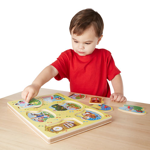 Melissa & Doug® Nursery Rhymes 1 - Sound Puzzle
