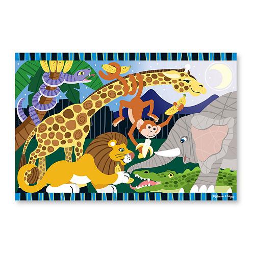 Melissa & Doug® Safari Social Floor Puzzle (24 pc)
