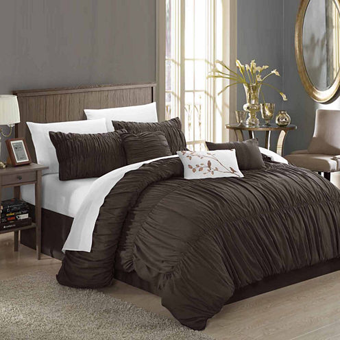 Chic Home Francesca 11-pc. Midweight Comforter Set