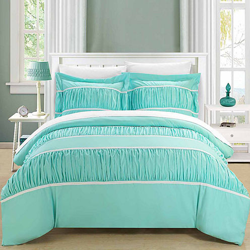 Chic Home Betsy 7-pc. Duvet Cover Set