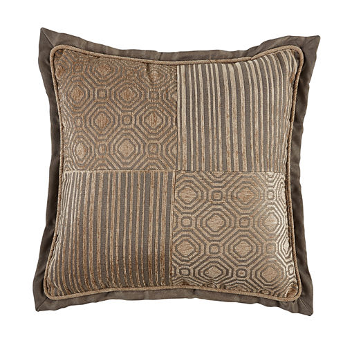 Croscill Classics Benson Square Throw Pillow