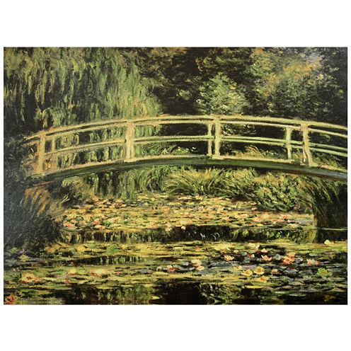 Oriental Furniture Japanese Bridge At Giverny Print
