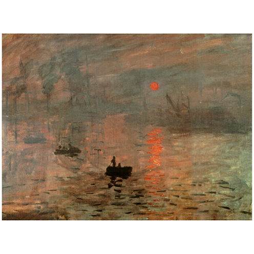 Oriental Furniture Impression Sunrise Classic Print