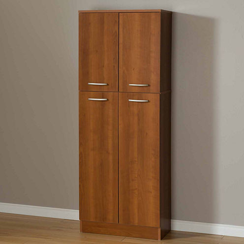 South Shore Axess 4-Door Storage Kitchen Pantry