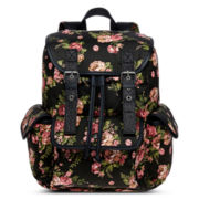Olsenboye® Floral Canvas Cargo Backpack