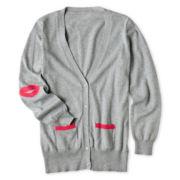 Total Girl® Boyfriend Cardigan - 6-16