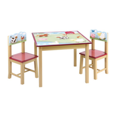 jcpenney.com | Farm Friends Table & Chairs Set