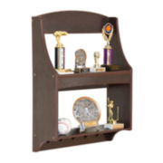 Expressions Trophy Rack – Espresso