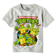 Teenage Mutant Ninja Turtles Short-Sleeve Graphic Tee – Boys 2y-5y