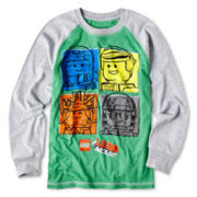 Lego Movie Long-Sleeve Raglan Graphic Tee – Boys 6-18