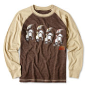 Star Wars Long-Sleeve Raglan Graphic Tee – Boys 6-18