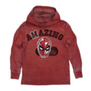 Spider-Man® Pull-Over Fleece Hoodie – Boys 8-20