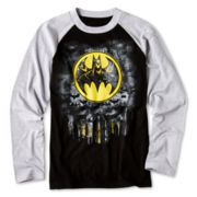 Batman Long-Sleeve Raglan Graphic Tee – Boys 6-18