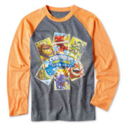 Skylanders Long-Sleeve Raglan Graphic Tee – Boys 6-16