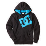 DC Shoes Co® Full-Zip Fleece Hoodie – Boys 6-16