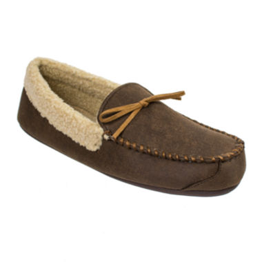 jcpenney.com | Dockers® Aviator-Style Moccasin Slippers
