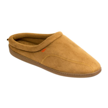 jcpenney.com | Dockers® Faux Suede Clog Slippers–Extended Sizes
