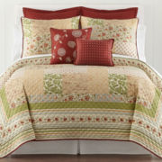 Hadleigh Reversible Floral Quilt & Accessories