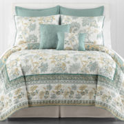 Ridgefield Jacobean Reversible Quilt & Accessories