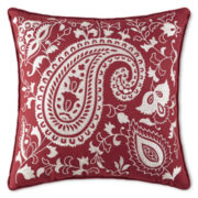 Galloway Medallion Square Decorative Pillow