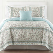 Home Expressions™ Morgan Floral Quilt & Accessories