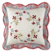Home Expressions™ Maggie Floral Square Decorative Pillow