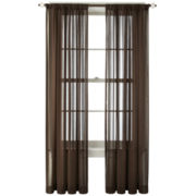 Royal Velvet® Cherise Rod-Pocket Sheer Panel