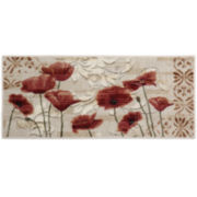 Poppy Heaven Washable Rectangular Rugs
