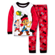 Disney Collection Jake and the Neverland Pirates 2-pc. Sleep Set – Boys 2-10
