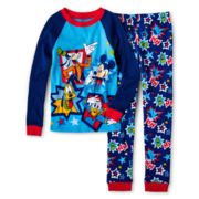 Disney Mickey Mouse Clubhouse 2-pc. Sleep Set – Boys 2-10