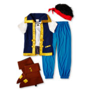 Disney Collection 4-pc. Jake Costume – Boys 2-12