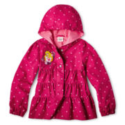 Disney Collection Sleeping Beauty Hooded Jacket - Girls 2-10