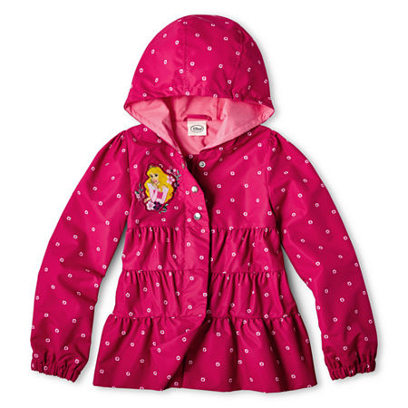 Disney Collection Sleeping Beauty Hooded Jacket – Girls 2-10