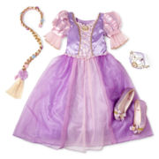 Disney Rapunzel Costume and Accessories – Girls 2-12