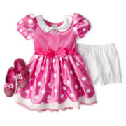 Disney Pink Minnie Mouse Costume and Accessories – Girls 2-12