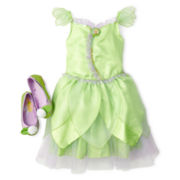 Disney Tinker Bell Costume and Accessories – Girls 2-12