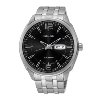 jcpenney.com | Seiko® Recraft Mens Stainless Steel Automatic Watch SNKN47