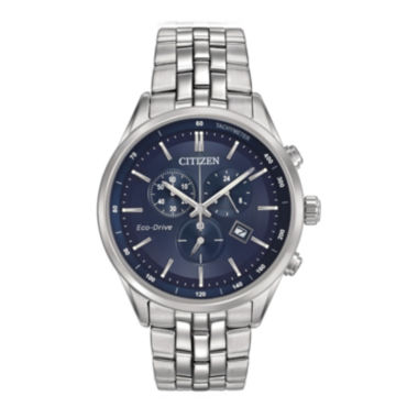 jcpenney.com | Citizen® Eco-Drive® Mens Stainless Steel Chronograph Watch AT2141-52L