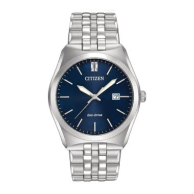 jcpenney.com | Citizen® Eco-Drive® Corso Mens Stainless Steel Watch BM7330-59L