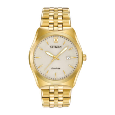 jcpenney.com | Citizen® Eco-Drive® Corso Mens Gold-Tone Stainless Steel Watch BM7332-53P