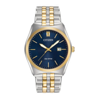 jcpenney.com | Citizen® Eco-Drive® Corso Mens Two-Tone Stainless Steel Watch BM7334-58L