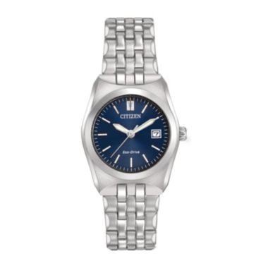 jcpenney.com | Citizen® Eco-Drive® Corso Womens Stainless Steel Bracelet Watch EW2290-54L